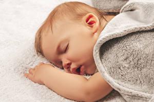 Bakgrunnsbilder Baby Sover Hender