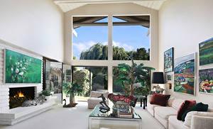 Bilder Innenarchitektur Design Wohnzimmer Sofa Cheminée