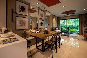 Fotos Innenarchitektur Tisch Stuhl Design Wohnzimmer