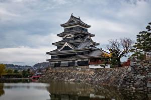 Picture Japan Castle Pond Matsumoto Castle
