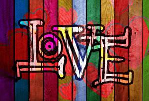 Bilder Liebe Graffiti Bretter Herz Wort Englische