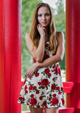 Hintergrundbilder Model Posiert Kleid Hand Starren Magdalena Warszawa