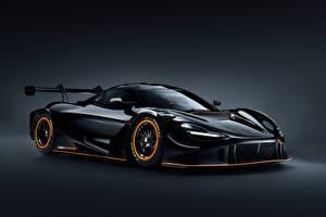 Pictures McLaren Black Metallic 720S GT3X, 2021 Cars