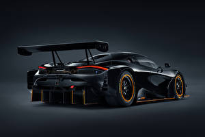 Pictures McLaren Black Metallic Back view 720S GT3X, 2021 auto