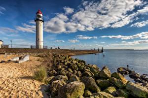 Hintergrundbilder Niederlande Küste Leuchtturm Wolke Hellevoetsluis Natur