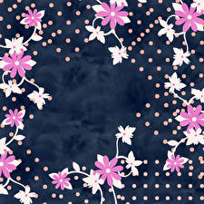 Images Petals Template greeting card Flowers