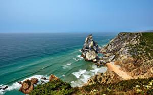 Fotos Portugal Küste Ozean Felsen Cabo da Roca