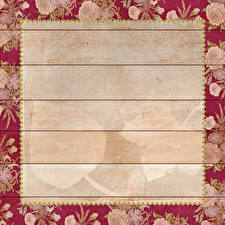 Pictures Rose Boards Leaf Template greeting card