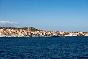 Bilder Meer Küste Schiffe Motorboot Italien La Maddalena, Olbia-Tempio, Sardinia