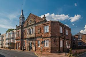 Bilder Vereinigtes Königreich Haus Wales Straße Monmouth, Rolls Hall