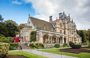 Fotos Vereinigtes Königreich Haus Eigenheim Design Stiege Rasen Tyntesfield House Wraxall Städte
