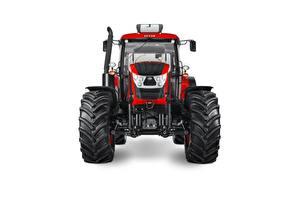 Bilder Traktor Vorne Rot Weißer hintergrund Zetor Crystal 160, 2015-18