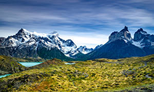 Fotos Chile Berg Parks Torres del Paine National Park, Patagonia