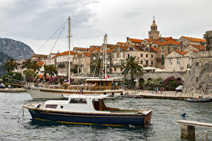 Images Croatia Building Riverboat Bay