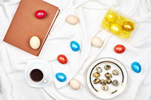 Hintergrundbilder Ostern Kaffee Teller Buch Ei Mehrfarbige Tasse das Essen