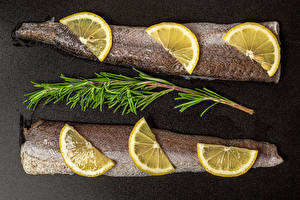 Desktop wallpapers Fish - Food Lemons Food