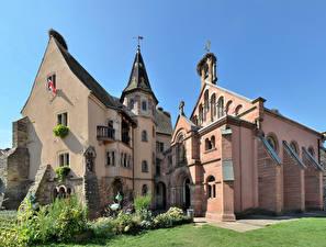 Pictures France Castles Design Eguisheim Saint-Leon Castle