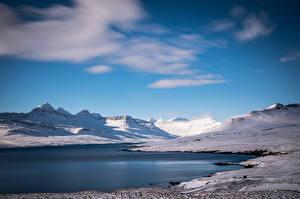 壁紙,冰岛,山,,大自然,