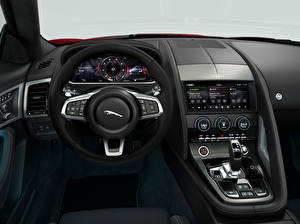 Pictures Jaguar Salons Driving wheel F-Type R-Dynamic Black Convertible, Worldwide, 2021 auto