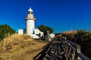 Images Japan Lighthouses Miura, Kanagawa Cities