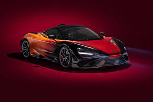 Photo McLaren Colored background 2020-21 MSO 765LT Strata Worldwide Cars