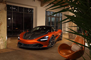 Picture McLaren Orange Metallic 2020-21 TopCar 720S Fury Cars