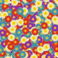 Wallpapers Texture Many Multicolor Flowers