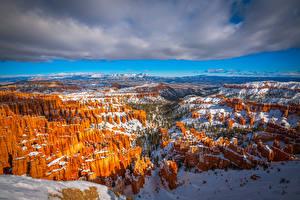 Fotos Vereinigte Staaten Parks Landschaftsfotografie Canyons Wolke