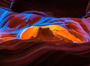 Picture USA Canyons Rock Upper Antelope Canyon, Arizona