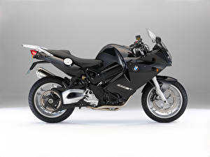 Fotos & Bilder BMW - Motorrad Schwarz Seitlich  Motorrad