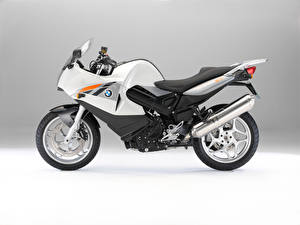 Wallpaper BMW - Motorcycle Silver color Side