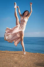 Wallpapers Ballet Legs Dancing Frock Girls