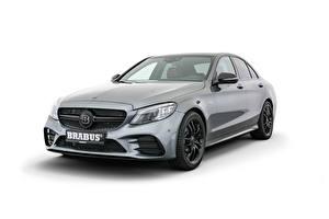 Pictures Brabus Gray Metallic White background 450 (W205), 2018 -- auto