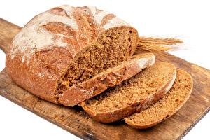 Bilder Brot Schneidebrett Geschnitten