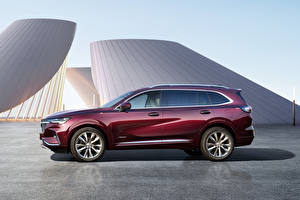 Pictures Buick Side Metallic Crossover Wine color Envision Plus Avenir, China, 2021 auto