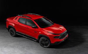 Wallpapers Fiat Red Metallic Pickup Toro Ultra (226), 2021 auto