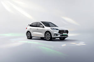 Image Ford White Metallic Escape PHEV, (China), 2021 automobile