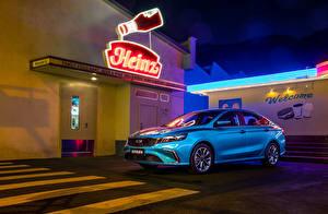 Pictures Geely Light Blue Metallic 2020-21 Bin Rui automobile