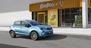 Wallpaper Geely Crossover Light Blue 2021 Vision X3 Pro Cars