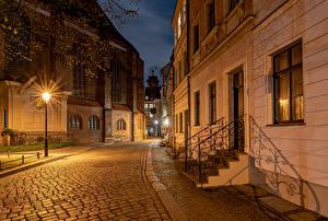 Fotos & Bilder Deutschland Berlin Haus Straßenlaterne Straße Städte