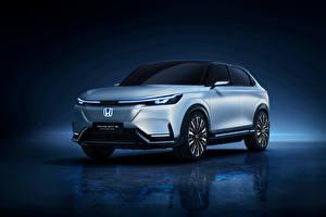 Fonds d'écran Honda Argent couleur Métallique e:prototype, 2021 automobile