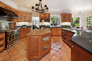 Picture Interior Design Kitchen Table Chandelier