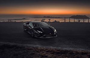 Fotos & Bilder Lamborghini Grau Metallisch Coupe  Autos