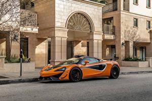 Image McLaren Orange Metallic 620R, 2021 Cars