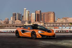 Pictures McLaren Orange Metallic 620R, 2021 Cars