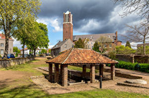 Photo Netherlands Houses Church Baarlo, Wasplaats De Sprunk