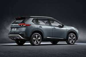 Bilder Nissan Sport Utility Vehicle Graues Metallisch Seitlich X-Trail, China, 2021 automobil