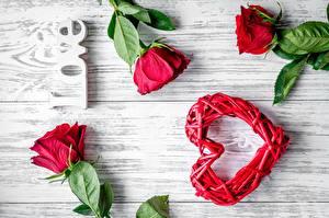 Fondos de escritorio Rosa Tarjeta de felicitación de la plant Corazón Palabra Inglés deportivas
