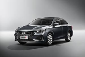 Papel de Parede Desktop Chineses Metálico Fundo cinza Trumpchi GA4 Plus, 2021 Carros