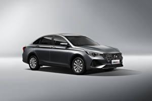 Pictures Metallic Chinese Gray background Trumpchi GA4 Plus, 2021 Cars